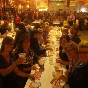 An Oktoberfest event in Kitchener